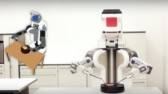 Des Robots Qui Apprennent A Cuisiner Comme Les Humains
