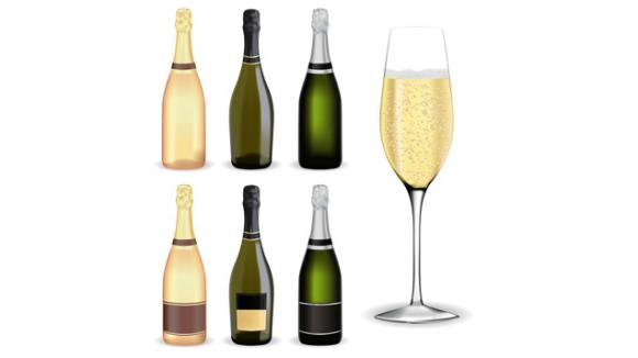Vins Et Champagnes Des Bouteilles Plus Legeres