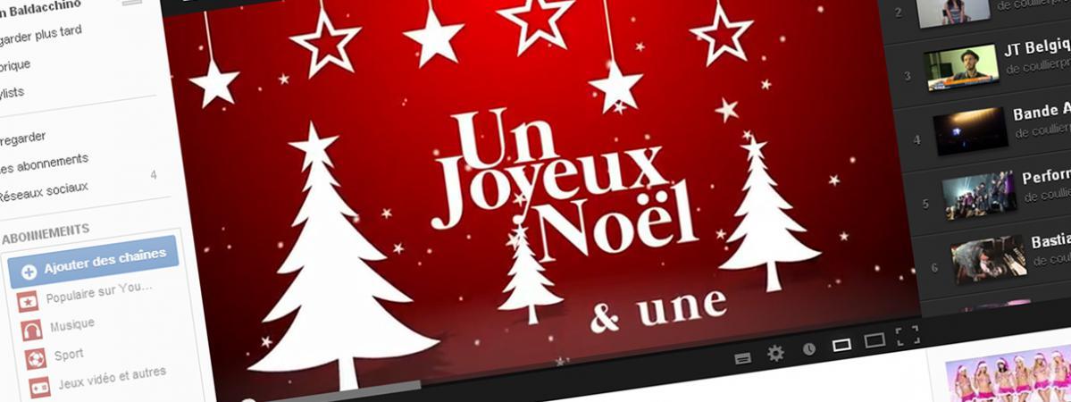 Max Boublil Joyeux Noel Youtube.Les Vœux De Noel Des Personnalites Sur Internet