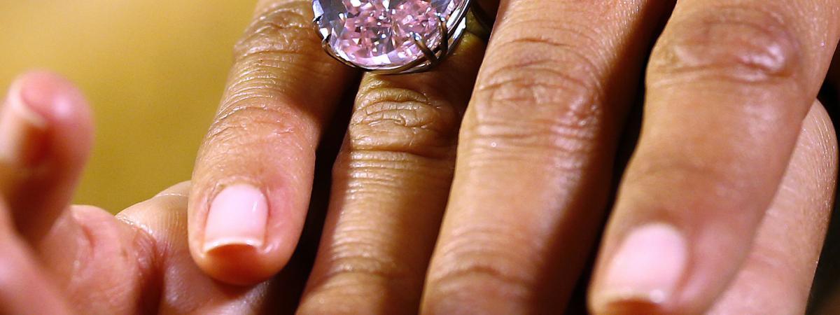 le pink star la pierre la plus prcieuse du monde - 45 Ans De Mariage Pierre Precieuse