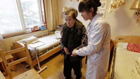 Dans une chine vieillissante le business des maisons de for Construire une maison de retraite