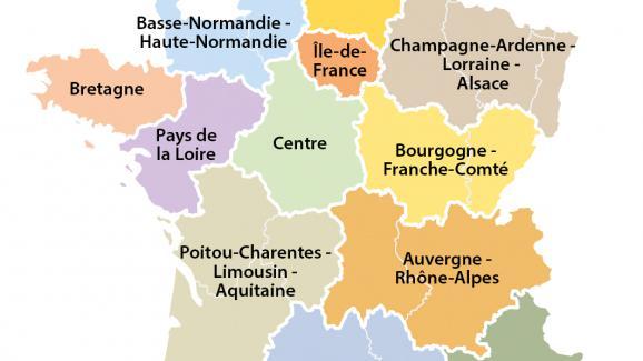 Carte Lalsace.La Carte Des Regions Votee L Alsace Ne Sera Plus Seule