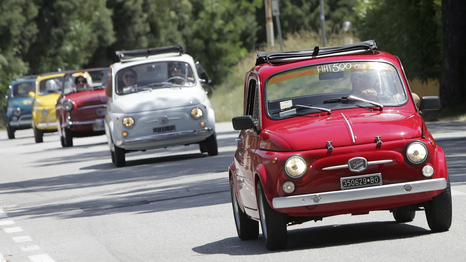 Fiat 500 en collection sa cote s 39 envole - Comptoir de la voiture de collection ...