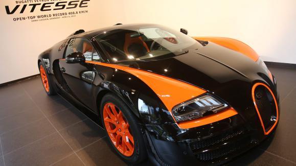 Bugatti veyron vitesse l 39 automobile au super superlatif - Voiture la plus puissante ...