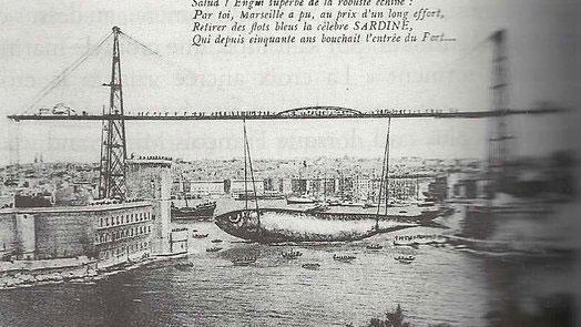 Pourquoi fait on dire aux marseillais qu 39 une sardine a bouch le port - Sardine port de marseille ...