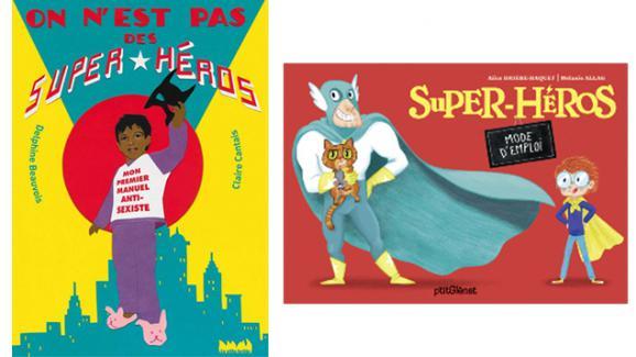 Quatre Albums Pour Super Heros En Herbe