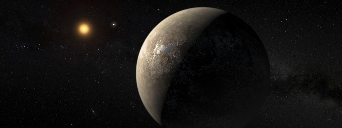 quatre questions autour de la d couverte de proxima b l 39 exoplan te la plus proche de la terre. Black Bedroom Furniture Sets. Home Design Ideas