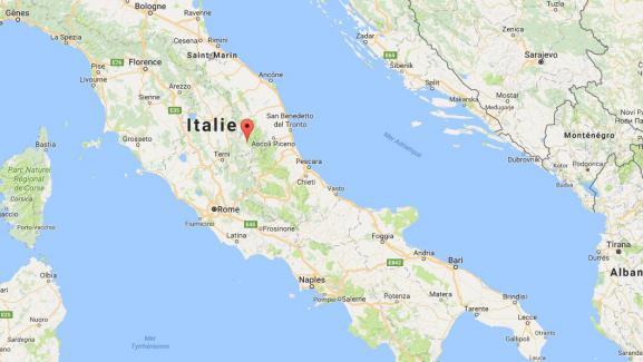 Norcia Italie Carte | imvt