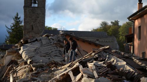 Séisme en Italie : des villages difficiles d'accès
