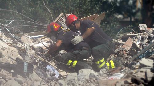 DIRECT. Séisme en Italie : le bilan s'alourdit à 250 morts, les recherches se poursuivent