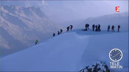 Canicule : gravir le mont Blanc est dangereux