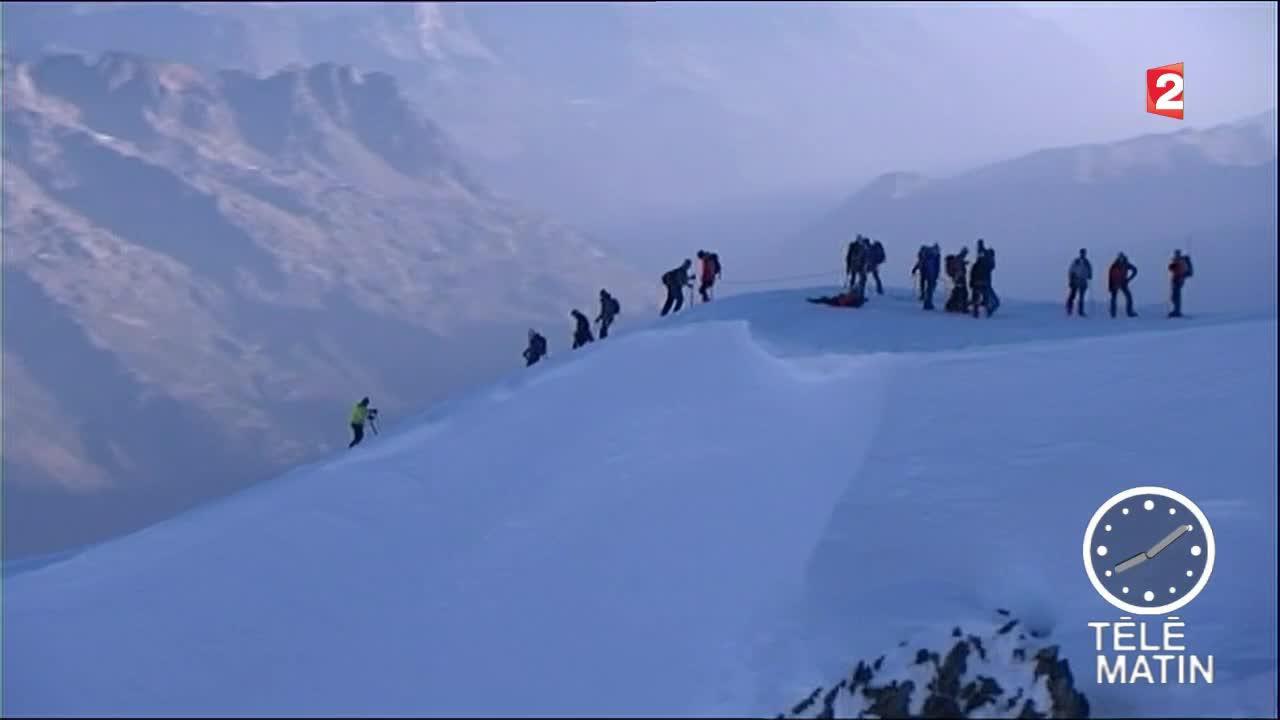 canicule gravir le mont blanc est dangereux