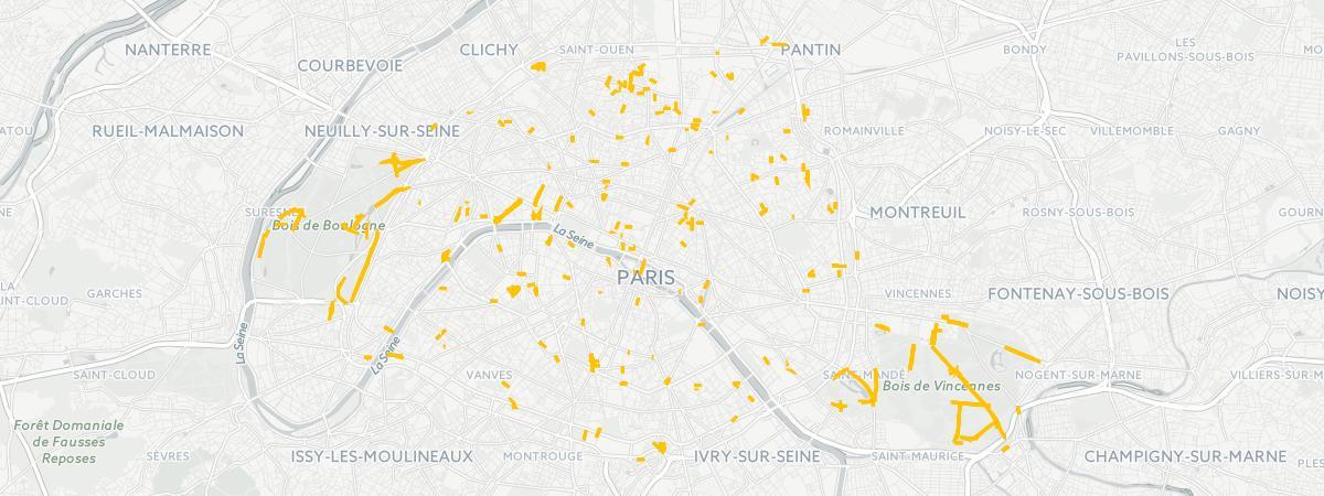 CarteOù Garer À Se Paris Gratuitement JKclF1