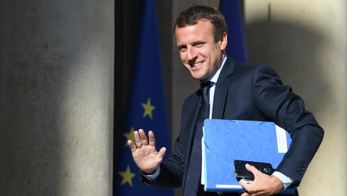 Le ministre de l'Économie, Emmanuel Macron va présenter sa démission à François Hollande ce mardi après-midi