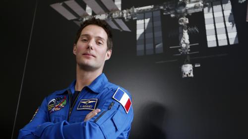 L'astronaute français Thomas Pesquet en route pour l'espace