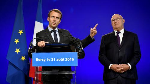 Bercy : les adieux d'Emmanuel Macron