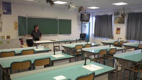 Éducation : la rentrée des profs