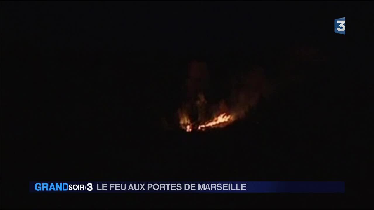 Bouches du rh ne alerte incendie aux portes de marseille for Info regionale bouche du rhone