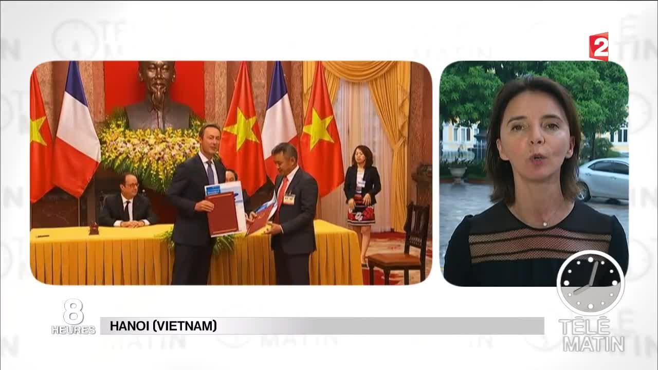 Fran ois hollande en vrp au vietnam for Chambre de commerce francaise au vietnam