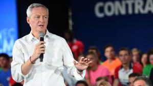 VIDEO. Bruno Le Maire entre