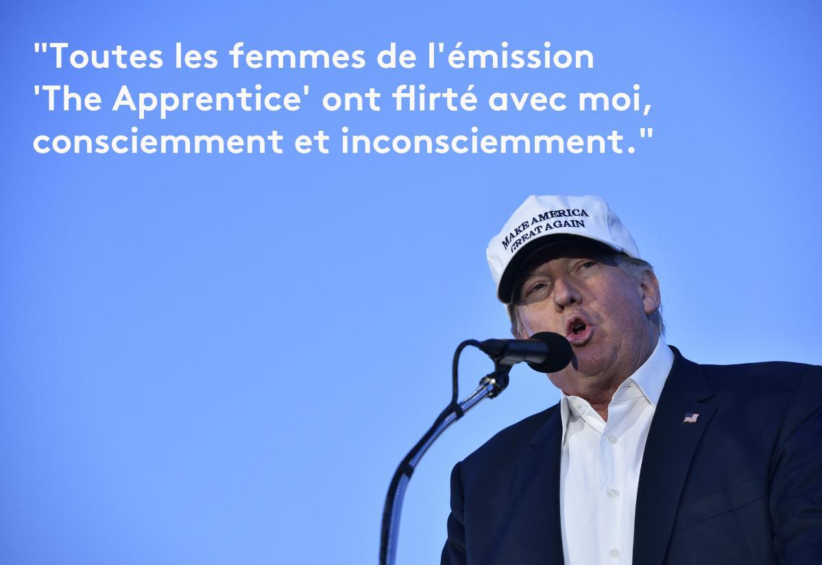 Top EN IMAGES. Donald Trump en douze phrases sexistes et vulgaires ZK16
