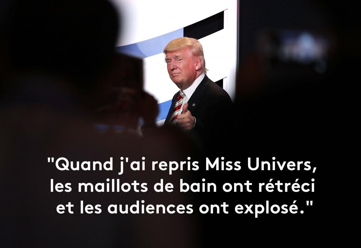 Préférence EN IMAGES. Donald Trump en douze phrases sexistes et vulgaires XF37