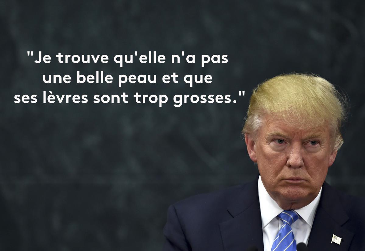 Populaire EN IMAGES. Donald Trump en douze phrases sexistes et vulgaires YZ16