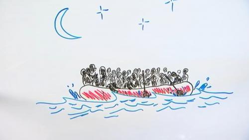 """VIDEO. """"Draw my news"""" : les fantômes du fleuve"""