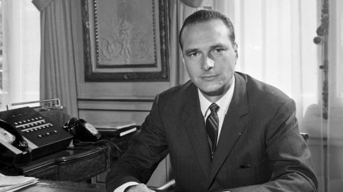 VIDEO. En 1967, la première apparition télé de Jacques Chirac