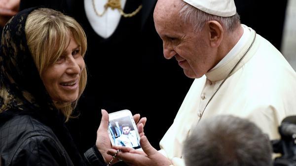 Attentat de Nice : les victimes et familles en deuil reçues par le pape au Vatican