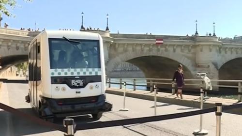 Paris : la première navette sans chauffeur de la RATP testée