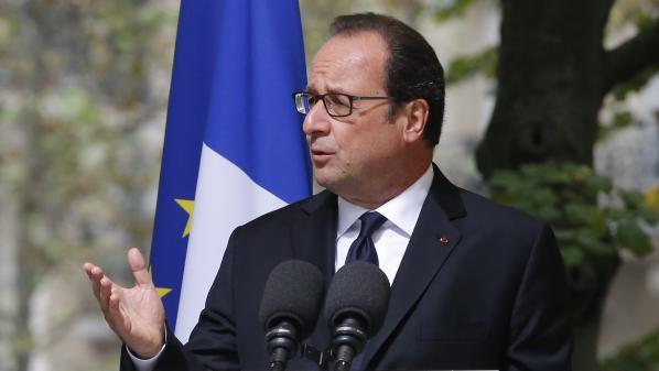 """VIDEO. Hollande """"reconnaît la responsabilité des gouvernements français dans l'abandon des harkis"""""""