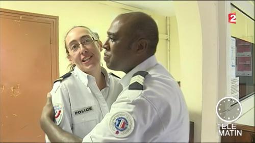 La Réunion : né dans un commissariat