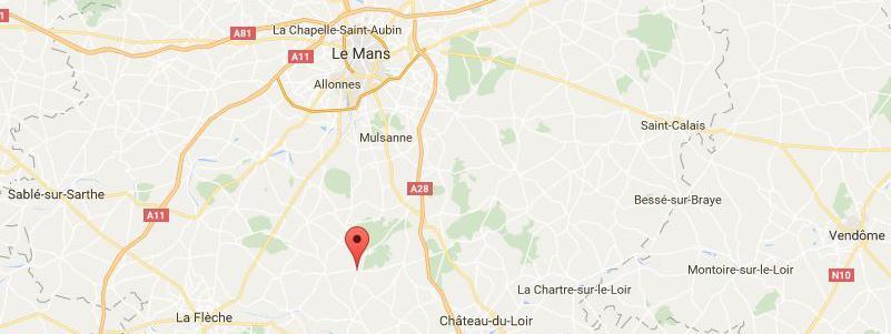 Les voleurs se sont rendus auprès de la gendarmerie dePontvallain (Sarthe), le 26 septembre 2016.