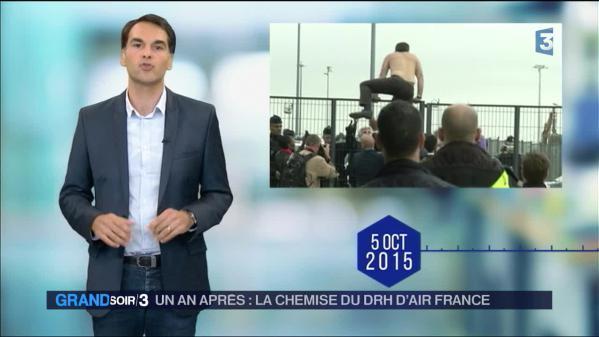 Un an après... la chemise arrachée d'un DRH d'Air France