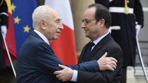 Des Etats-Unis à la France, les responsables politiques saluent l'engagement de Shimon Peres en faveur de la paix