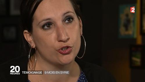 VIDEO. Laura Passoni, repentie du jihad, raconte ses neufs mois passés au cœur de l'Etat islamique