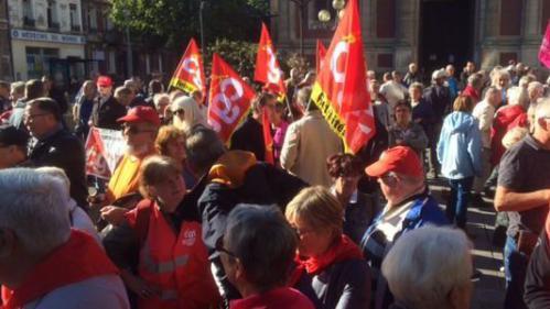 Argent : mobilisation des retraités