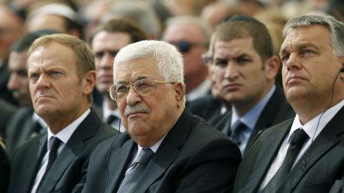 Funérailles de Shimon Peres : une poignée de main entre Abbas et Netanyahu