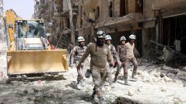 Syrie : les casques blancs touchés par l'horreur