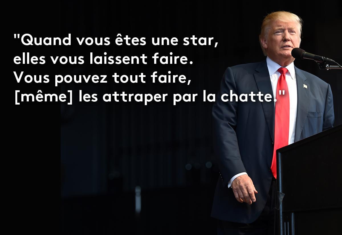 Célèbre EN IMAGES. Donald Trump en douze phrases sexistes et vulgaires GE74