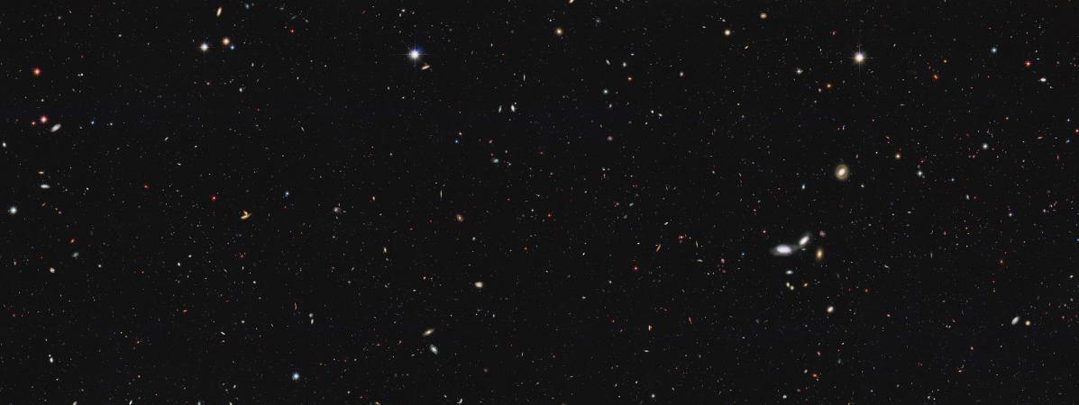 Image de l'univers prise par le téléscope Hubble de la Nasa, jeudi 13 octobre 2016.