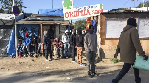 """""""Jungle"""" de Calais : ultimes préparatifs avant le démantèlement"""