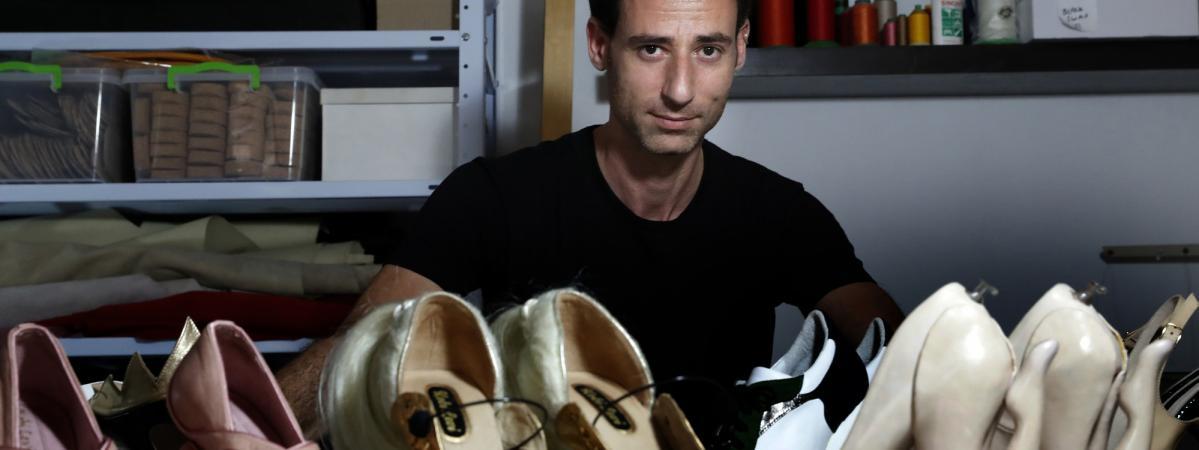 Israélien Kobi Du Les Escarpins Levi Extravagants Designer b7gYv6fy