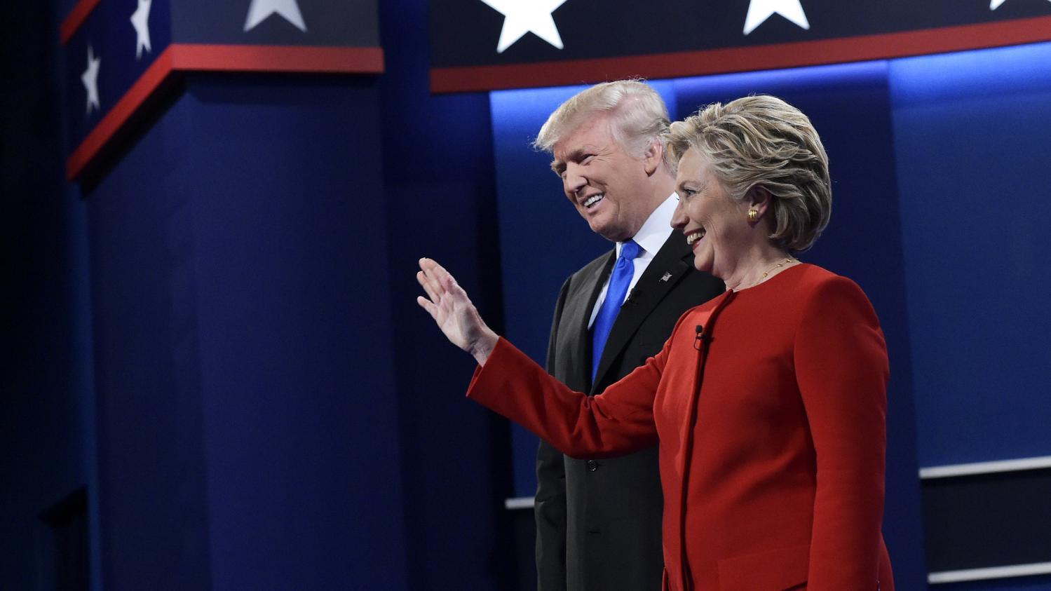 Direct pr sidentielle am ricaine trump et clinton au coude coude en floride un etat cl du - Election presidentielle etats unis ...