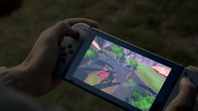 Nintendo d voile la switch sa nouvelle console hybride utilisable sur une t l ou dans les - Nouvelle console de jeux ...