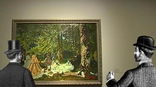 """Choix du 20 heures : le """"Déjeuner sur l'herbe"""" de Monet"""