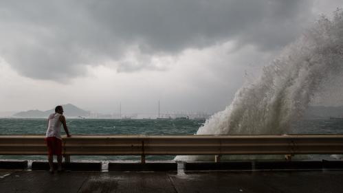 VIDEO. Chine : des surfeurs défient un typhon