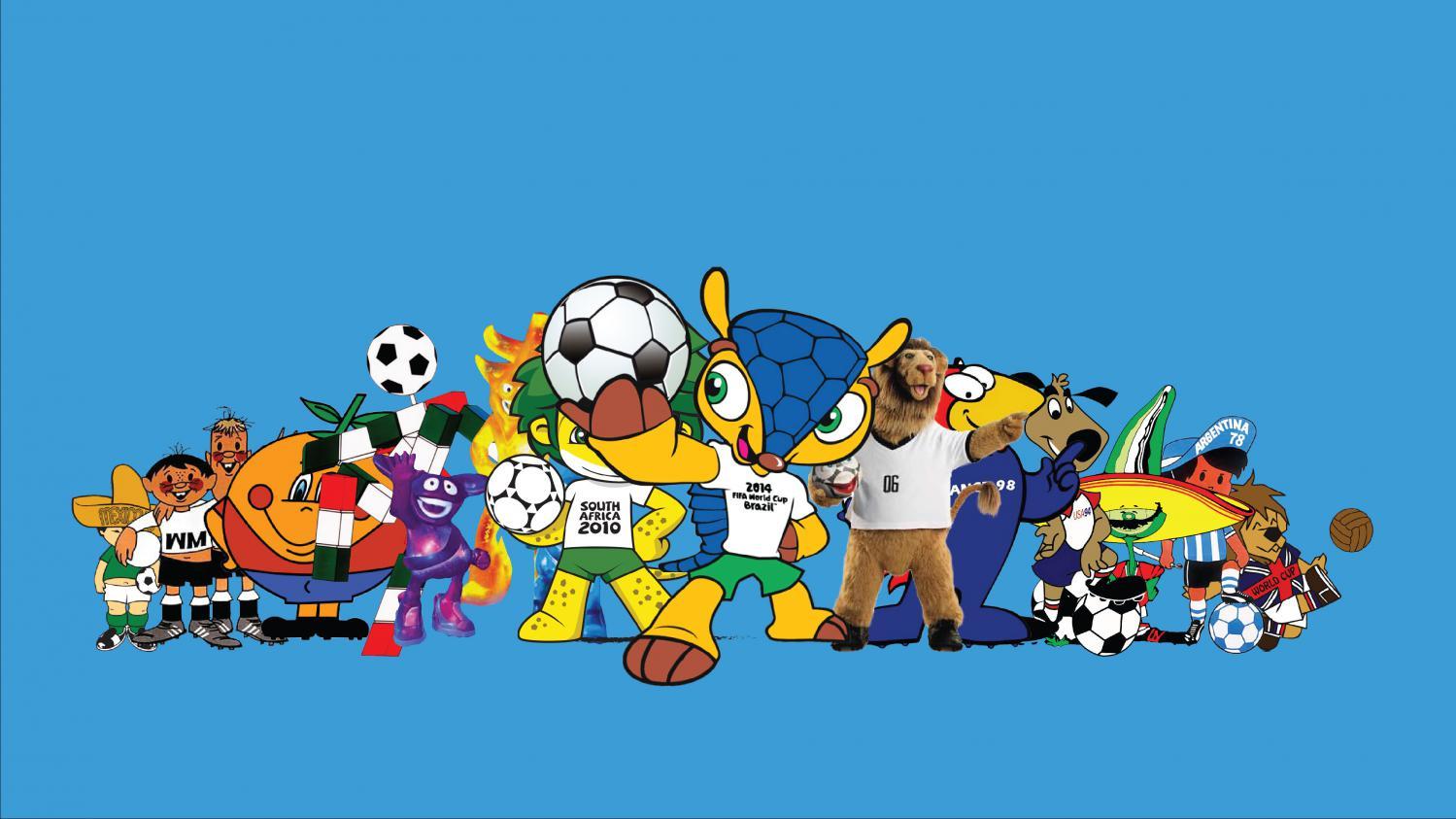 Video coupe du monde de football une histoire de mascotte - La mascotte de la coupe du monde 2014 ...