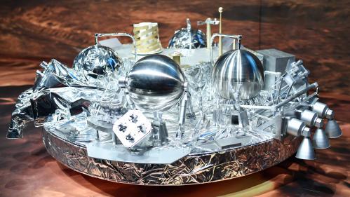 """Mission ExoMars : l'atterrisseur Schiaparelli """"s'est écrasé à la surface de Mars"""""""